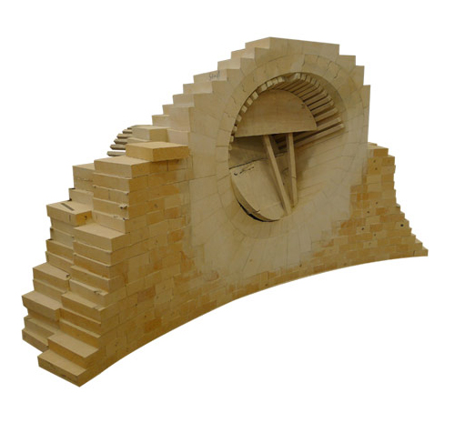 热风炉用组合砖